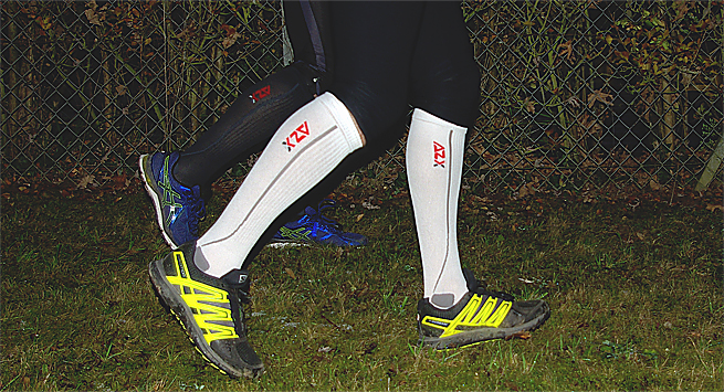 Test chaussette running Compression AZX